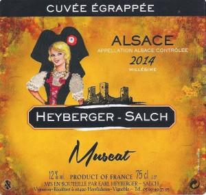 ETIQUETTE MUSCAT 001 - 2015