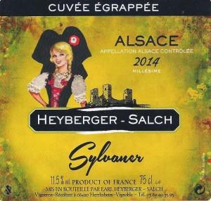 ETIQUETTE SYLVANER 001 - 2015